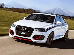 Аренда авто Audi RS Q3 - лидер, среди себе подобных