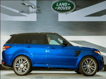 Range Rover Sport SVR – мощь и сила взятые в аренду