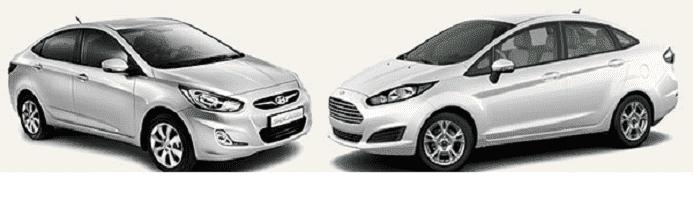 Правильный выбор между Ford Fiesta & Hyundai Solaris