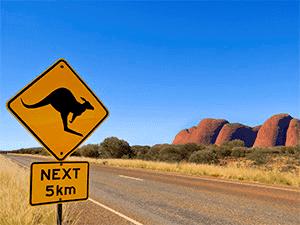 Поездки по Австралии на арендованном автомобиле