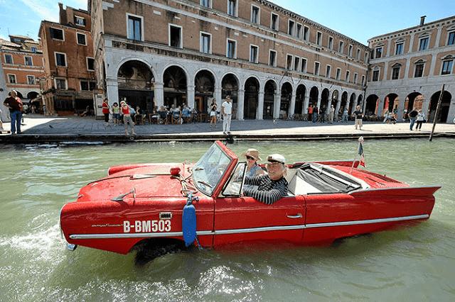 Путешествие по Венеции на арендованном авто