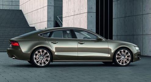 Немного о модели Audi A7