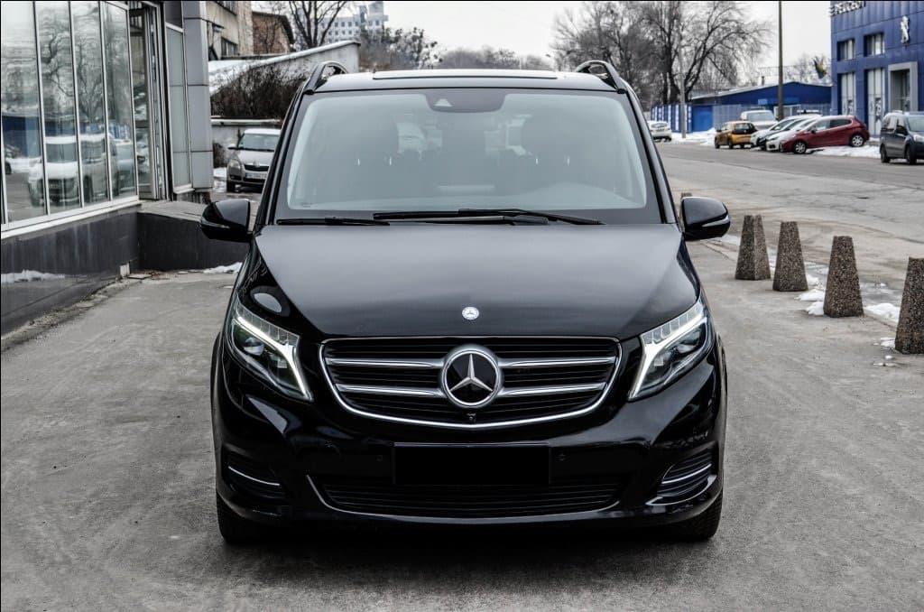Mercedes-Benz V-class Long 4-matic (7st) - фото 1