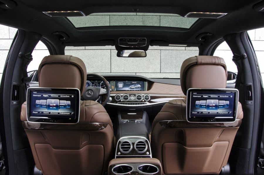 Mercedes-Benz S550 W222 4-matic - фото 9