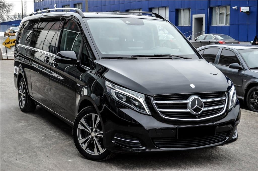 Mercedes-Benz V-class Long 4-matic (7st) - фото