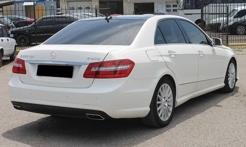 MERCEDES-BENZ E350 4-MATIC W212 AMG-STILE - фото 5