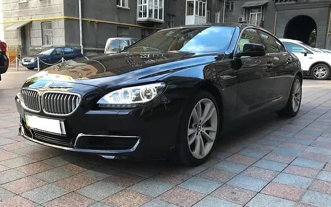 Аренда BMW 650 Gran Cupe