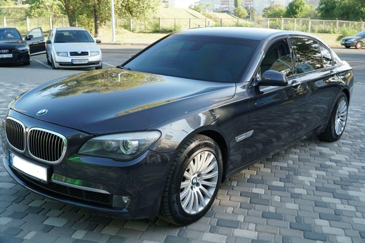 Прокат BMW 750 БРОНЬ В7
